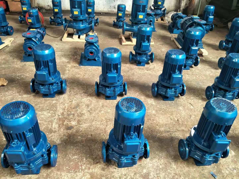 立式管道离心泵生产车间